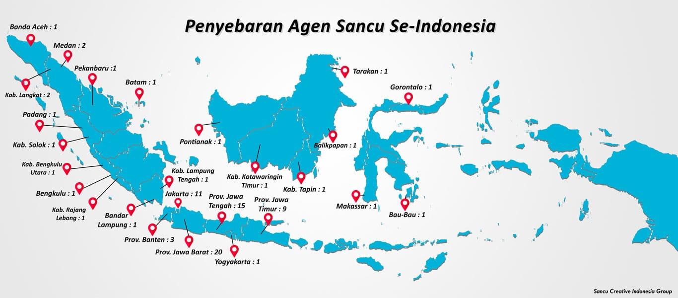 peta penyebaran agen sancu