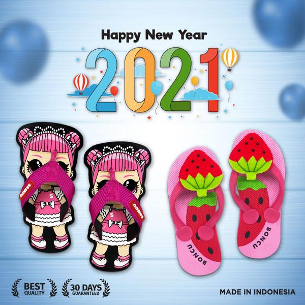 sandal sancu tahun baru